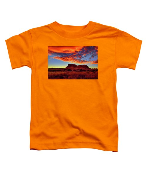 Toddler T-Shirt featuring the photograph Canyonlands Sunset by Greg Norrell
