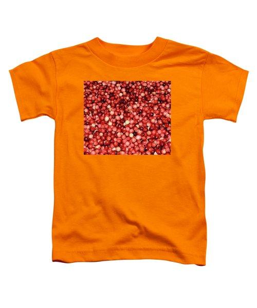 Cape Cod Cranberries Toddler T-Shirt