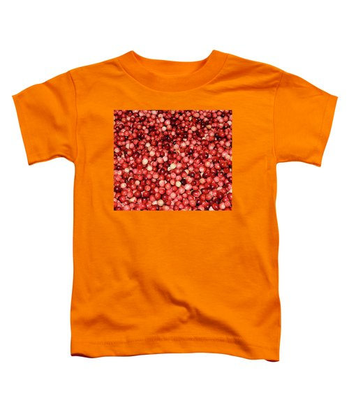 Cape Cod Cranberries Toddler T-Shirt