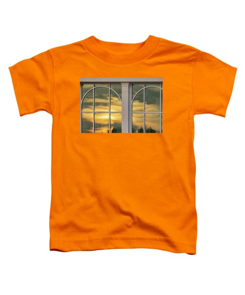 Cape May Abstract Sunset Reflection Toddler T-Shirt