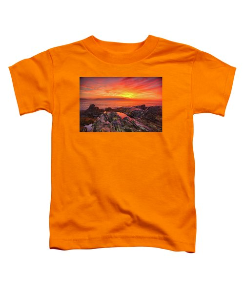 Cape Neddick Sunrise Toddler T-Shirt
