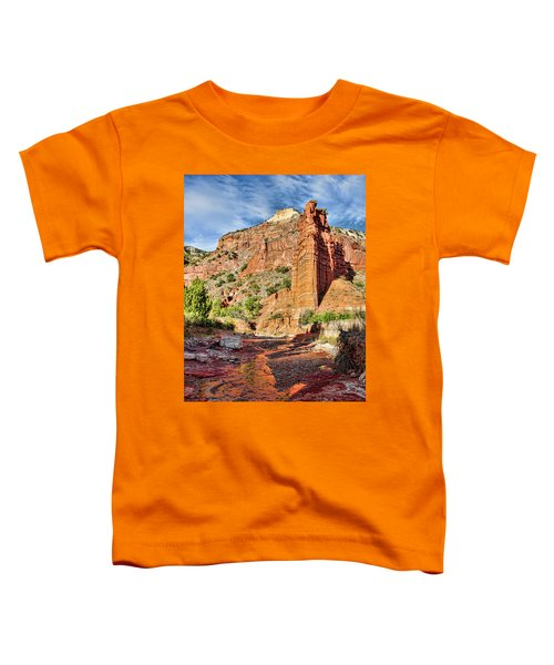 Caprock Canyon Cliff Toddler T-Shirt