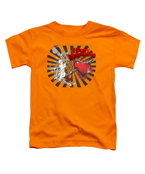 Card Valentine Cherub Toddler T-Shirt