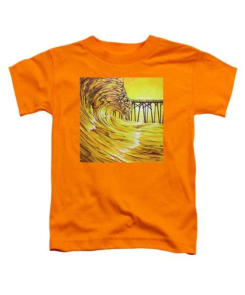 Carolina Beach North End Pier Toddler T-Shirt