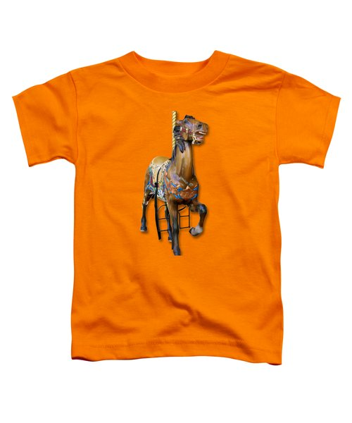 Carousel Horse Toddler T-Shirt