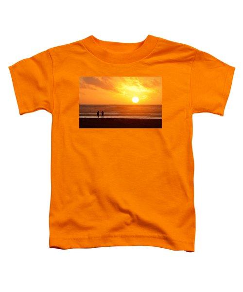 Catching A Setting Sun Toddler T-Shirt