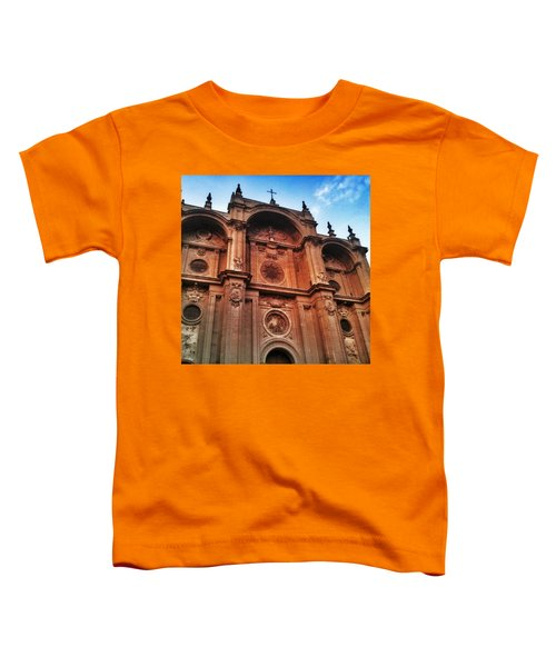 Catedral De #granada View From Plaza Toddler T-Shirt