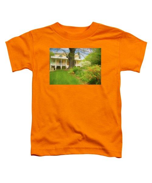 Cedar Grove In Spring Toddler T-Shirt