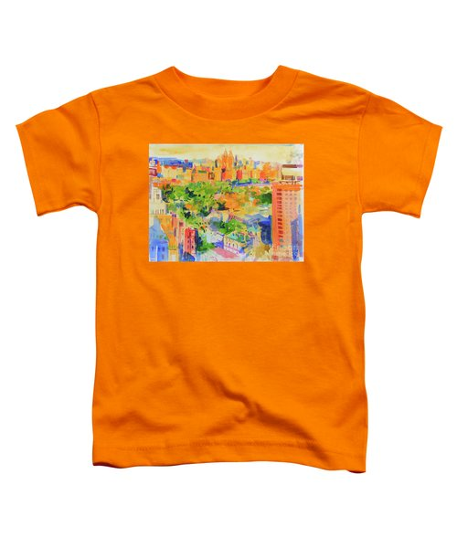Central Park From The Carlyle Toddler T-Shirt