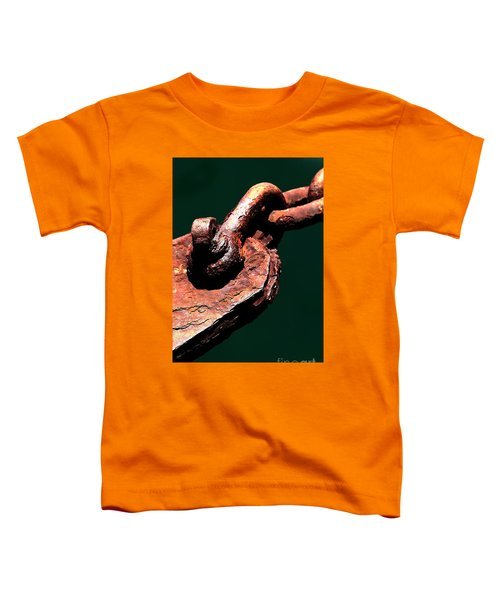 Toddler T-Shirt featuring the photograph Chain Age II by Stephen Mitchell