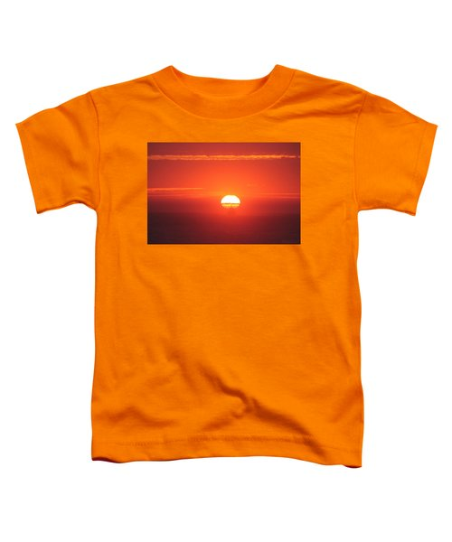 Challenging The Sun Toddler T-Shirt