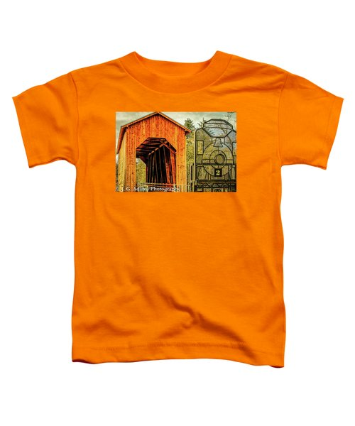 Chambers Railroad Bridge Toddler T-Shirt