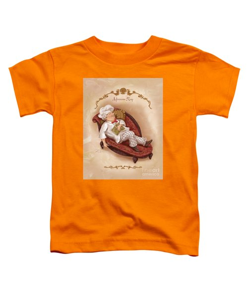 Chefs On A Break-afternoon Nap Toddler T-Shirt