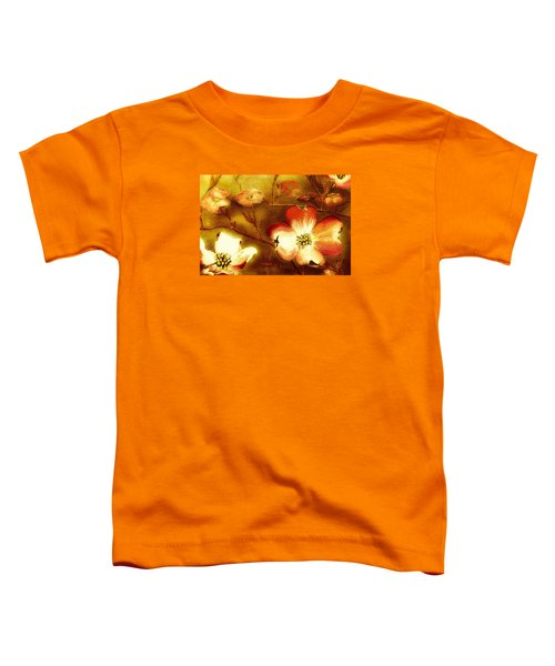 Cherokee Rose Dogwood - Glow Toddler T-Shirt