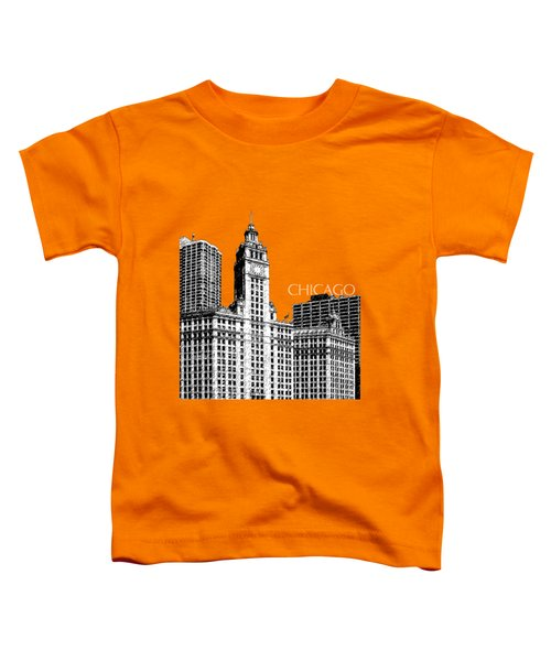 Chicago Wrigley Building - Salmon Toddler T-Shirt