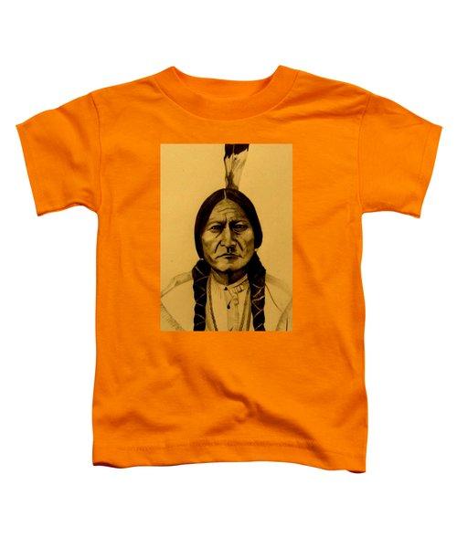 Chief Sitting Bull  Tatanka Iyotake Toddler T-Shirt