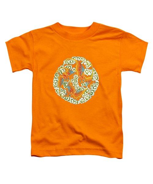 Chinese Bats Tee Shirt Design Toddler T-Shirt