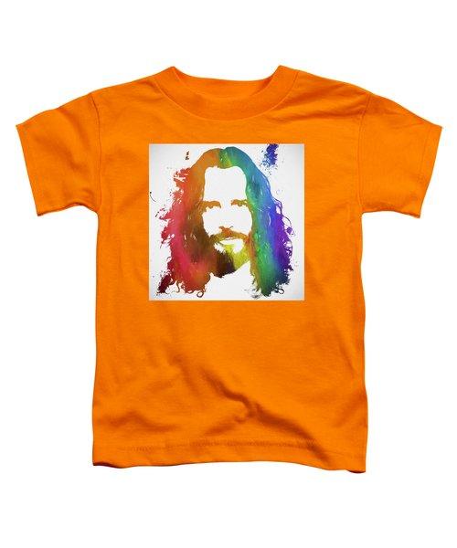 Chris Cornell Color Tribute Toddler T-Shirt