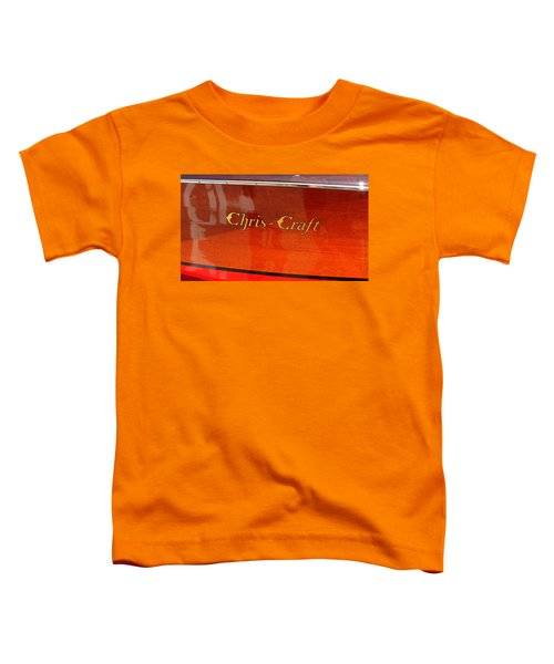 Chris Craft Logo Toddler T-Shirt