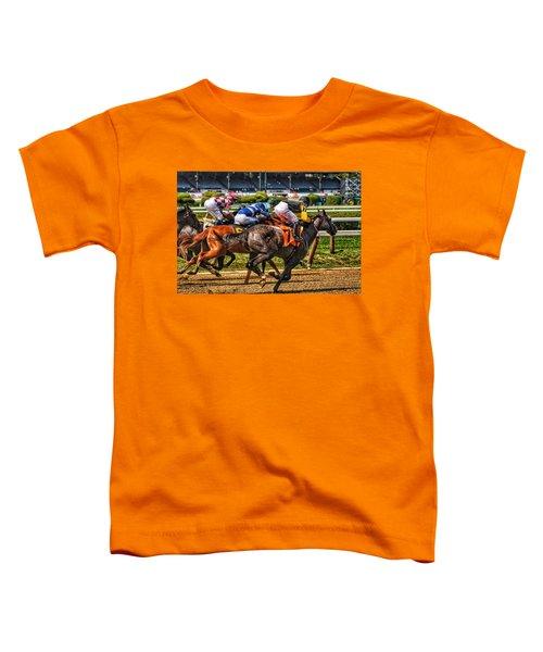 Close Running Toddler T-Shirt