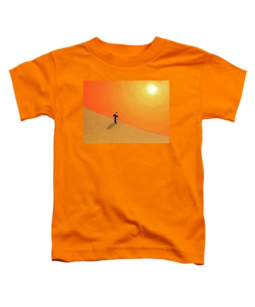 Close To The Edge Toddler T-Shirt