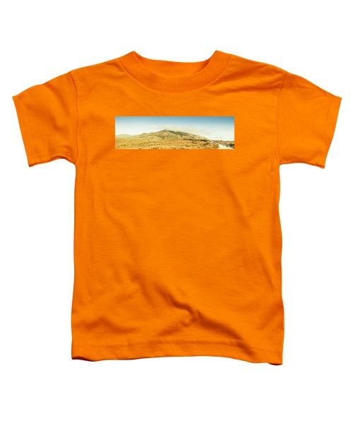 Cloud And Mountain Magnificence Toddler T-Shirt