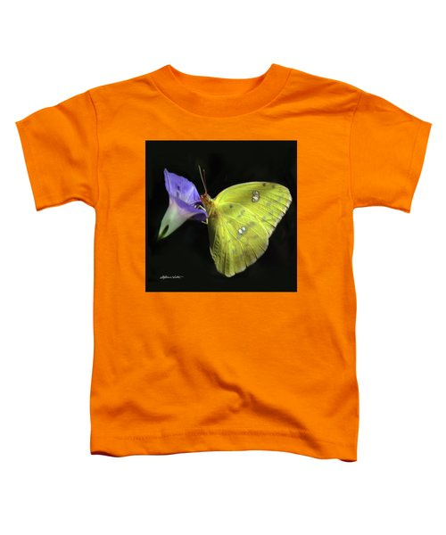 Clouded Sulfur Butterfly Toddler T-Shirt