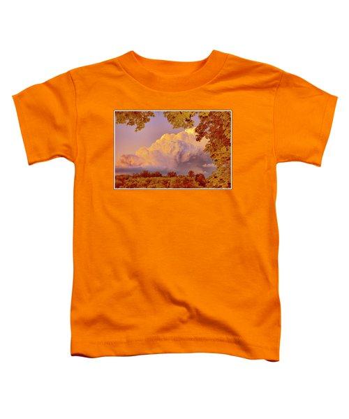 Clouds At Sunset, Southeastern Pennsylvania Toddler T-Shirt