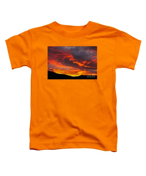 Clouds On Fire Toddler T-Shirt