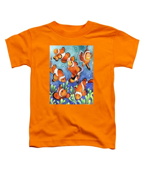 Clown Fish Toddler T-Shirt