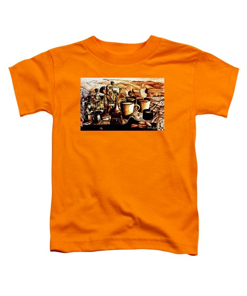 Coffee Caiques Toddler T-Shirt