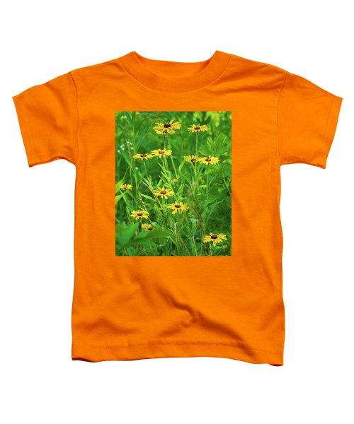 Toddler T-Shirt featuring the photograph Collection In The Clearing by Bill Pevlor