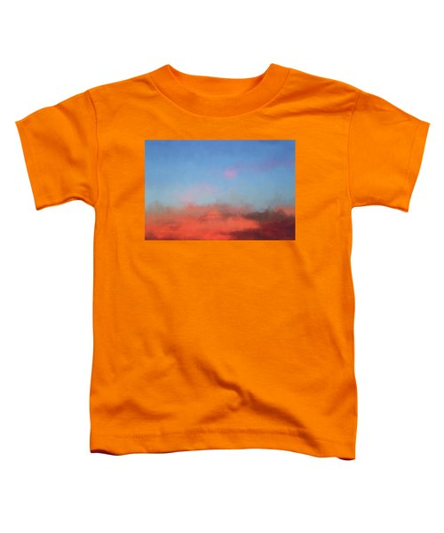 Color Abstraction Xlvii - Sunset Toddler T-Shirt