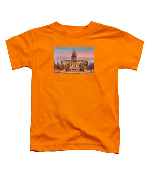 Toddler T-Shirt featuring the photograph Colorado Capital by Gary Lengyel