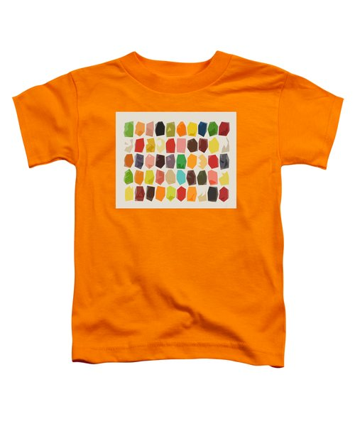 Colorful Crystal Abstract Toddler T-Shirt