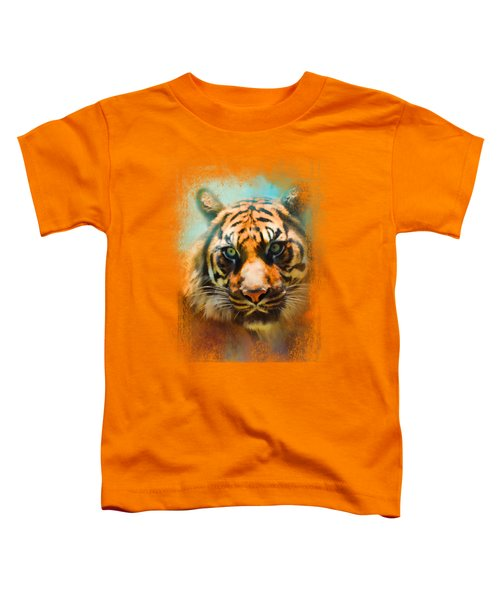 Colorful Expressions Tiger 2 Toddler T-Shirt by Jai Johnson