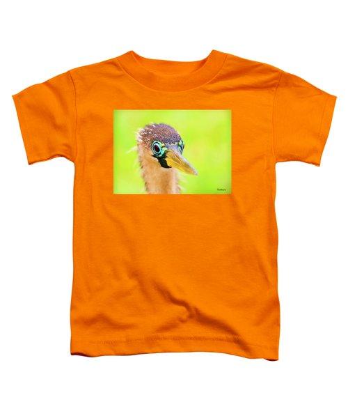 Colorful Female Anhinga Toddler T-Shirt