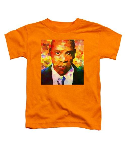 Colorful Jay Z Palette Knife Toddler T-Shirt