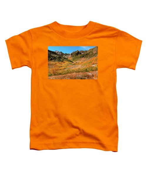 Colorful Mcgee Creek Valley Toddler T-Shirt