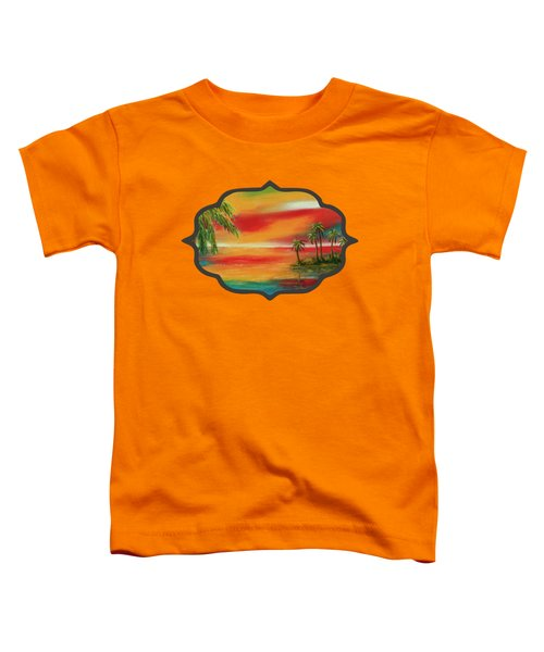 Colorful Paradise Toddler T-Shirt