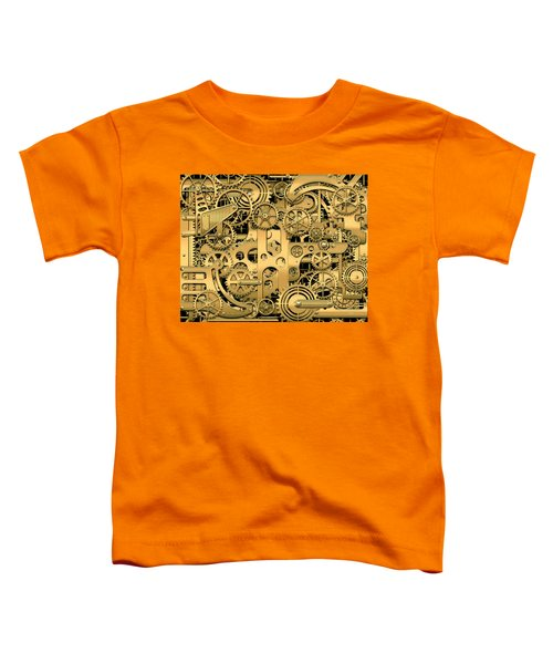 Complexity And Complications - Clockwork Gold Toddler T-Shirt