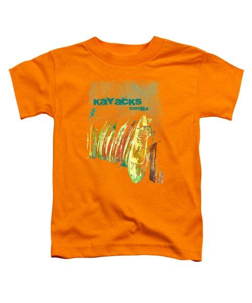 Corolla Kayacks Toddler T-Shirt