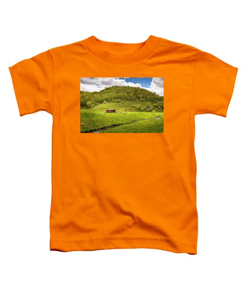 Coulee Morning Toddler T-Shirt