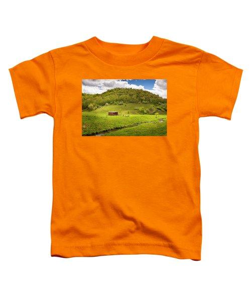 Coulee Morning Toddler T-Shirt
