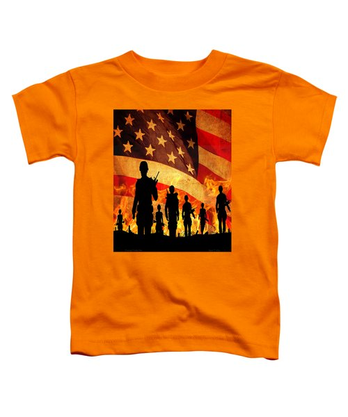 Courage Under Fire Toddler T-Shirt