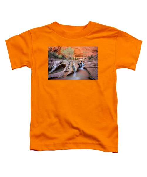 Toddler T-Shirt featuring the photograph Coyote Gulch by Whit Richardson