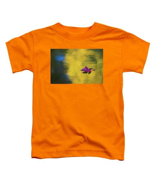 Crimson And Gold Toddler T-Shirt