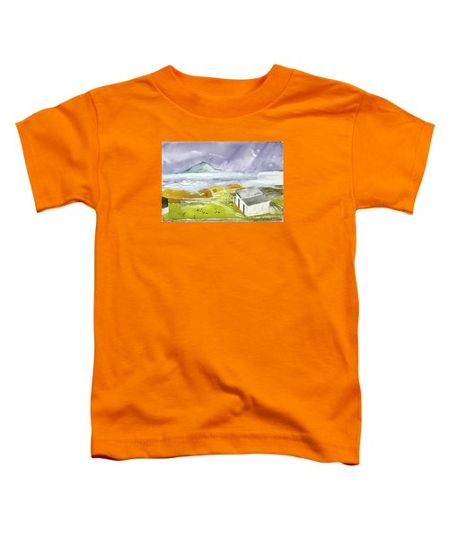 Croagh Patrick And Purple Sky Toddler T-Shirt