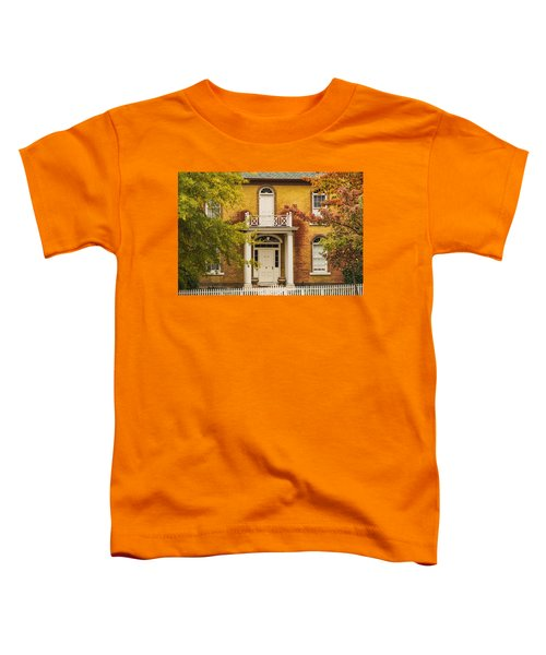 Crooked White Fence Toddler T-Shirt