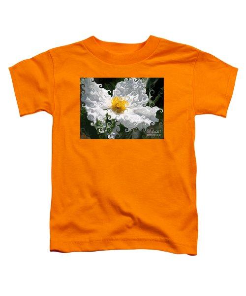 Curlicue Fantasy Bloom Toddler T-Shirt
